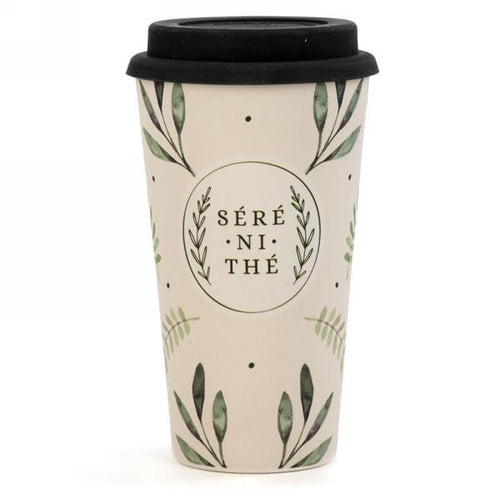 Travel mug in bamboo ''Séré ni thé