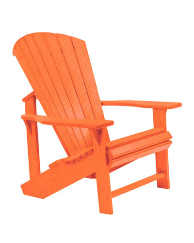 CLASSIC ADIRONDACK CHAIR ORANGE