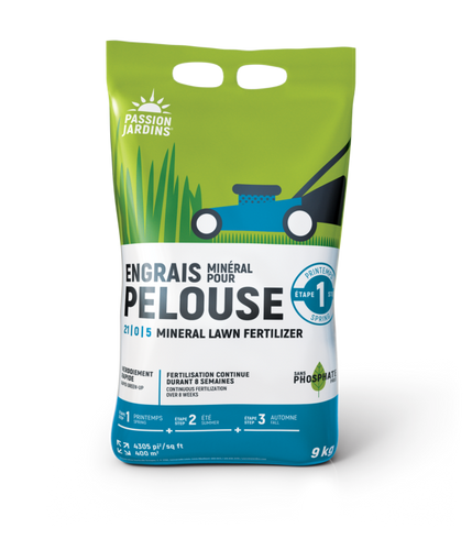 Mineral Fertilizer for your Lawn PASSION JARDINS