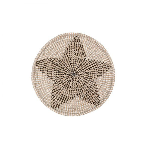 Vina Wall decoration - natural star 16 ″