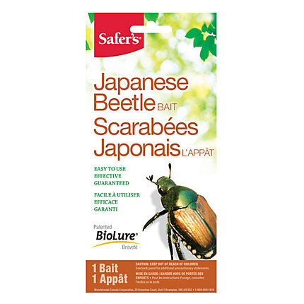 Safer's® Japanese Beetle - 1 appât de remplacement