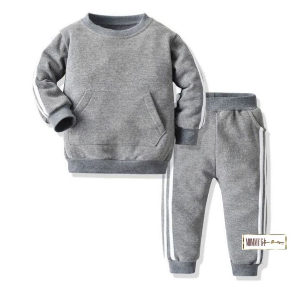 Little Man Sports Set (Grey)