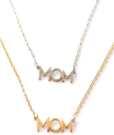 Mom Necklace (Gold)