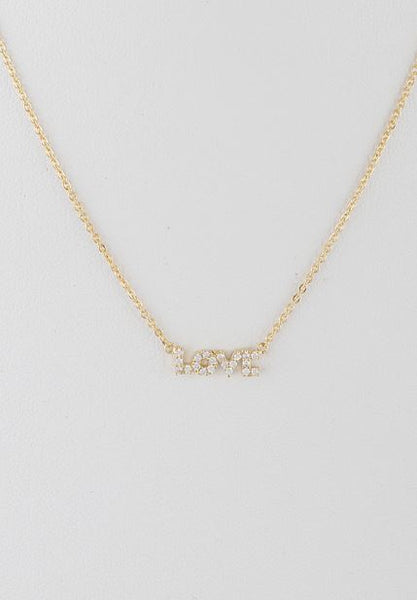 Love Necklace (Gold)