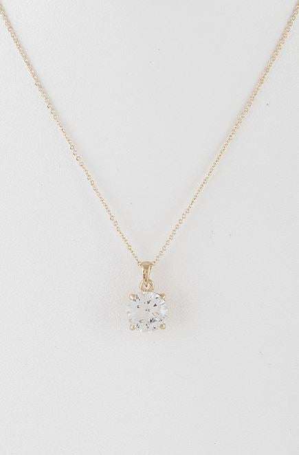 Special Round Rhinestone Necklace