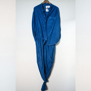 Deep Ocean Indigo Jumpsuit Product Photo