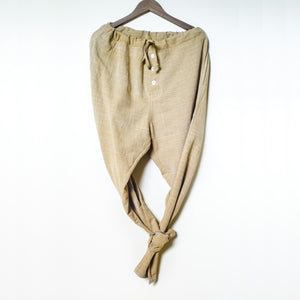 Handwoven Parachute Pants Product Shot Front