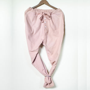 One Tone Parachute Pants Coconut Pink Product Photo