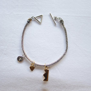 Chain Charm Bracelet Product Photo