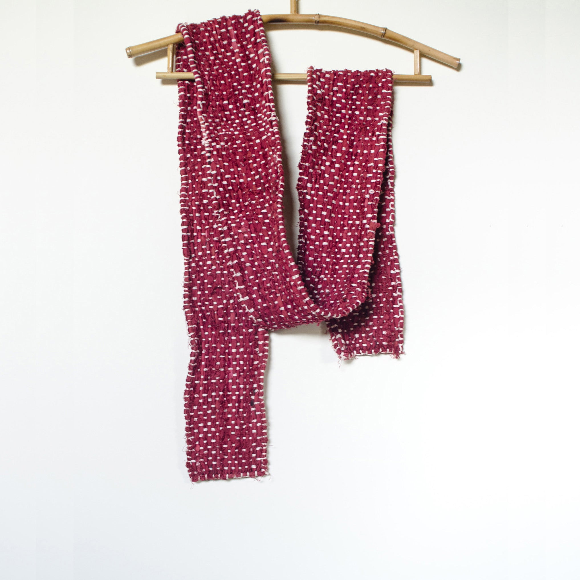Handwoven Hibiscus Red Belt Product Photo