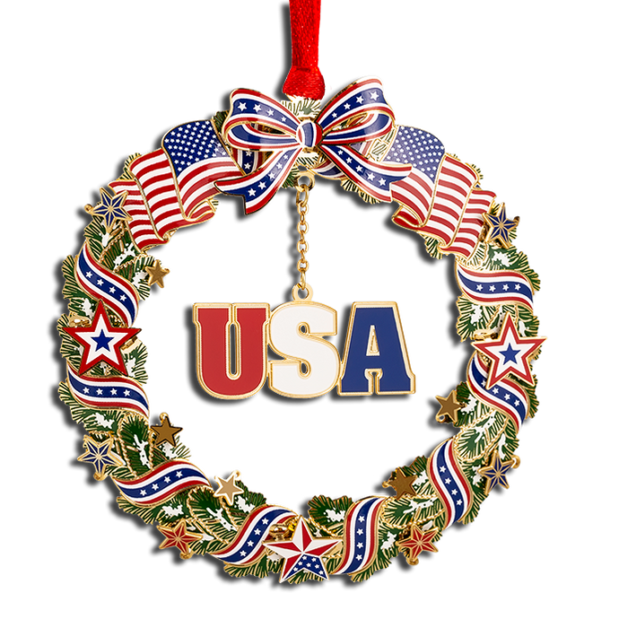 Patriotic Wreath OE-750-014
