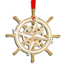 Load image into Gallery viewer, 3D Nautical Compass OE-750-019