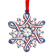 Load image into Gallery viewer, Patriotic Snowflake OE-750-024