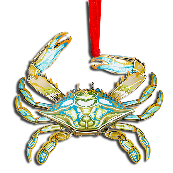 3D Blue Crab OE-750-034