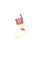 Load image into Gallery viewer, Liberty personalised Christmas stocking