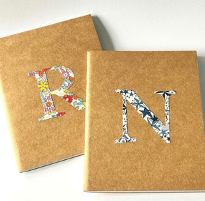 Personalised Liberty notebook