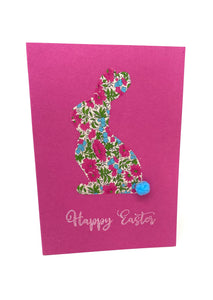 Liberty bunny Easter card