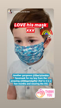 Load image into Gallery viewer, Child's Liberty print Popular face mask - XS or S - 16 choices