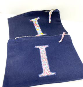 Ready to post Liberty personalised zip bag letter I