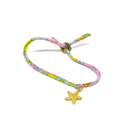 Starfish Summer Liberty bracelet in metal box