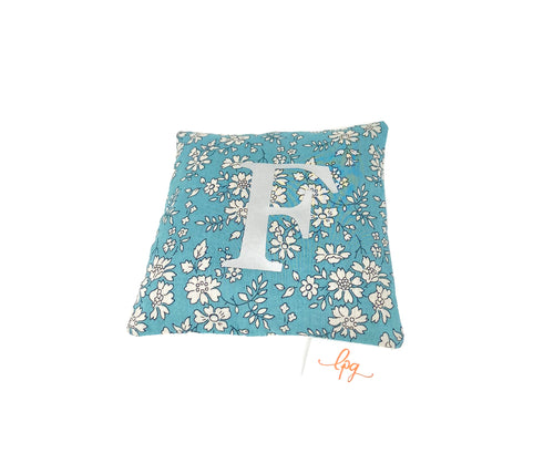 Personalised Liberty lavender bag-pillow