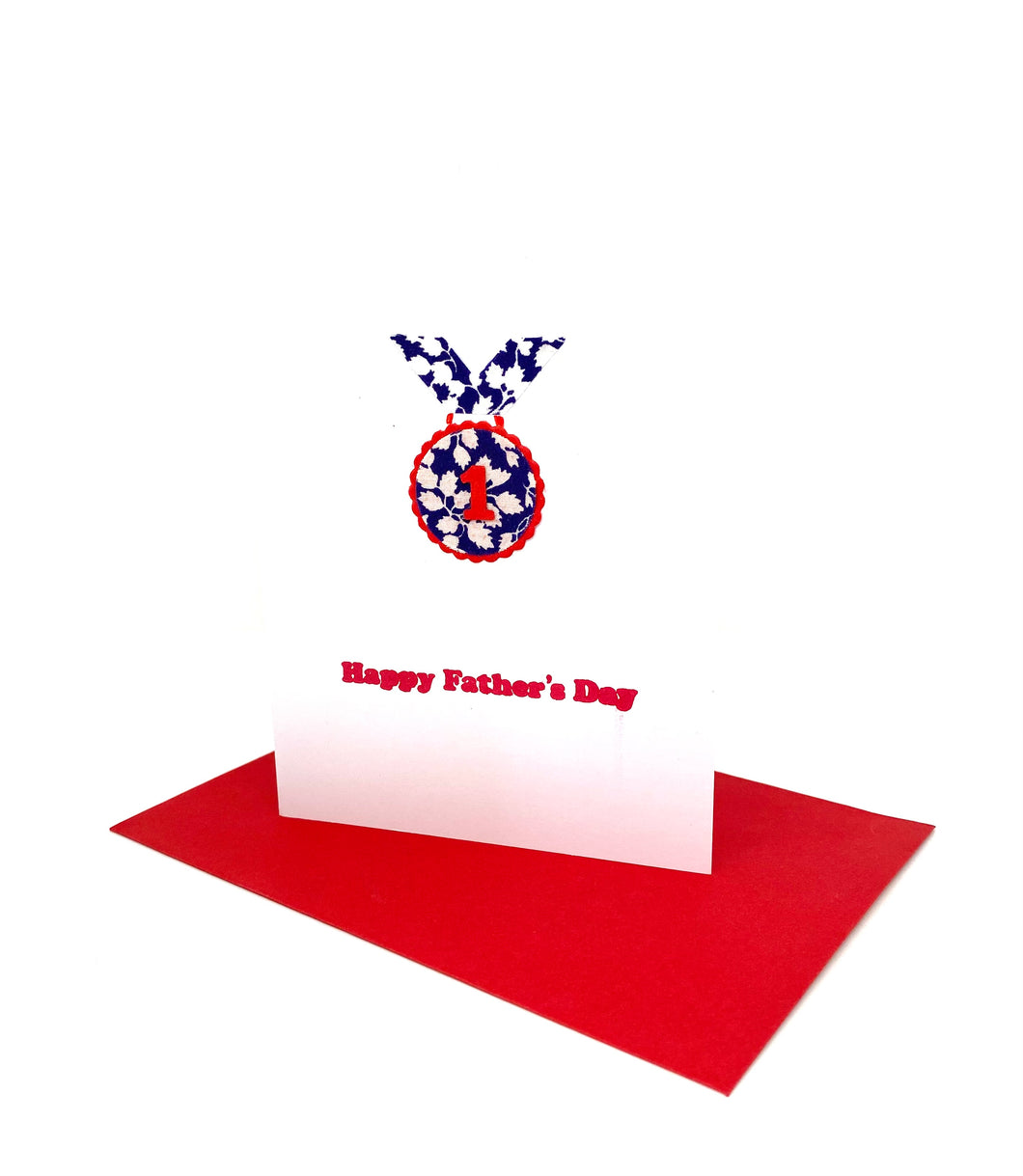 Liberty Father's Day card