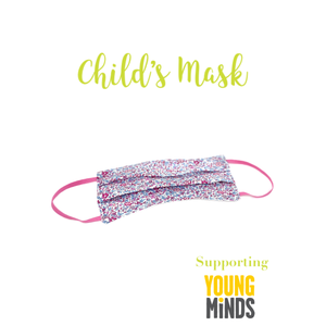 Child's Liberty print face mask - XS or S - 16 choices