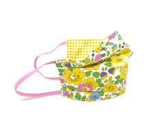 Load image into Gallery viewer, Popular Gingham S/S21 Liberty print face mask