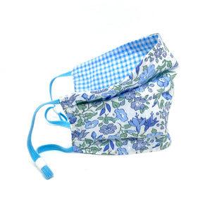 Popular Gingham S/S21 Liberty print face mask