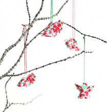 Load image into Gallery viewer, Liberty Christmas decoration - Liberty of London fabric Christmas angel decoration