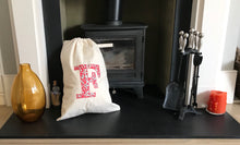 Load image into Gallery viewer, Liberty personalised sack bag