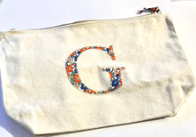 Load image into Gallery viewer, READY TO POST Liberty personalised zip bag