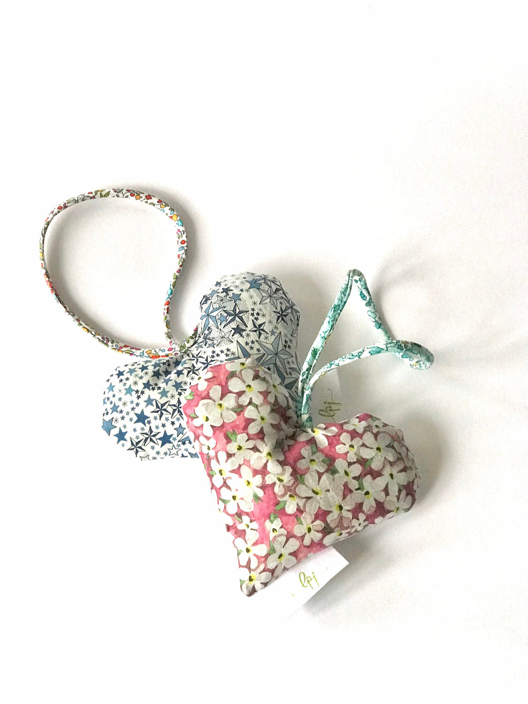Liberty heart lavender bag