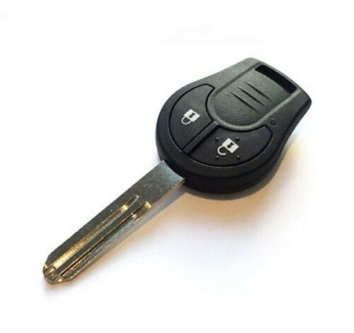 Nissan Micra K13 2010 to 2013, 2 BUTTON Remote key Fob, ID46 PCF7936 NEW