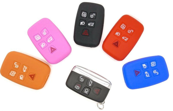 For Land Rover, Jaguar, Range Rover Remote Control Key Fob Cover