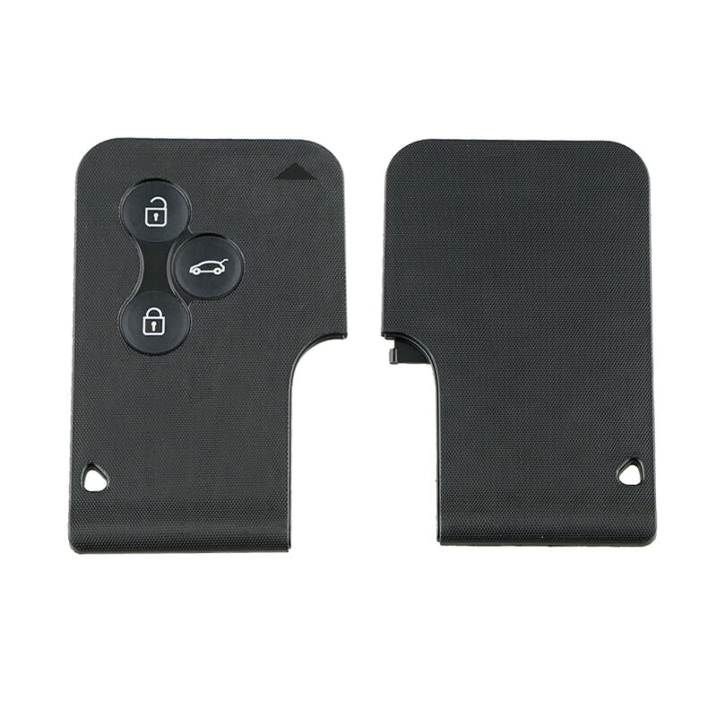 Low Budget 3 Button Renault Megane Key Card 433MHz For Renault Megane Scenic Clio
