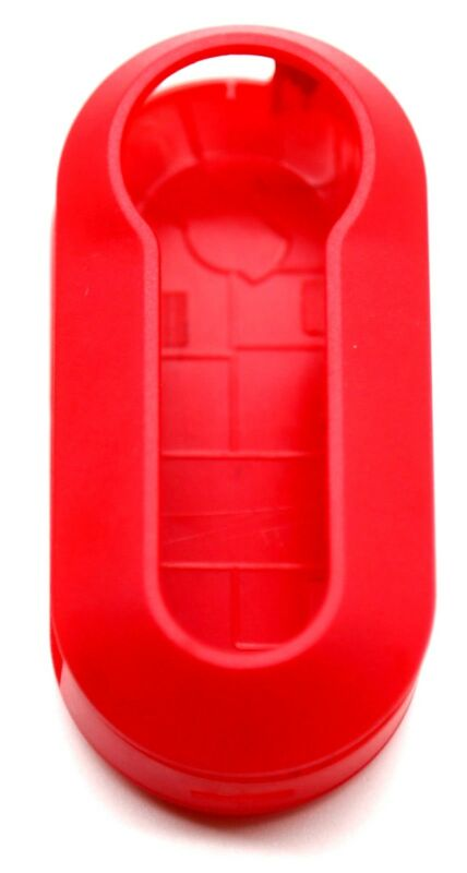 Compatible with Fiat 500 Punto key cover case plastic replacement shell
