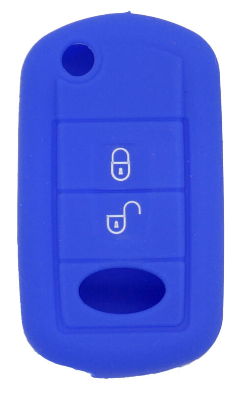 Fits Land Rover Discovery Range Rover 3 button Key Case soft silicone cover