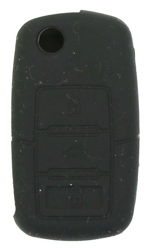 VW Golf Transporter Passat  3 button Soft Silicone Remote Key Fob Case Holder