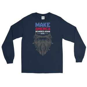BABC Long Sleeve - Front Logo - MABA Gray Beard