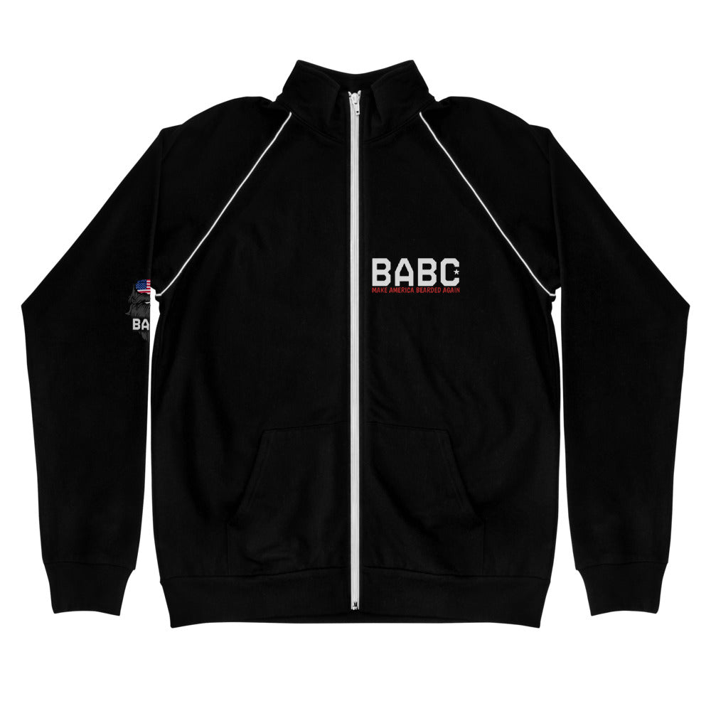BABC Piped Fleece Jacket - Three Logos!