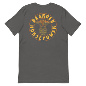 Short-Sleeve T-Shirt- BIG BEARD- Front+Back Logos