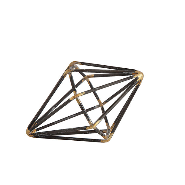 Metal Geometric Objects (Diamond)