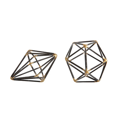 Metal Geometric Objects