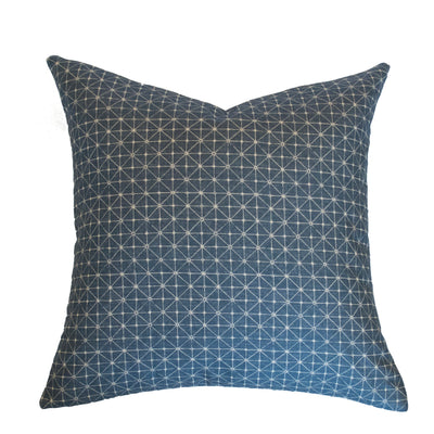 Blue Constellation Pillow Cover
