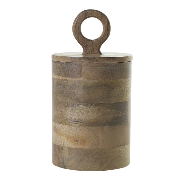 Harlow Wood Canister Lg