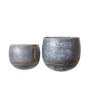 Galvanized Wall Planter (set of 2)