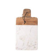 Marble + Mango Wood Cheese Board