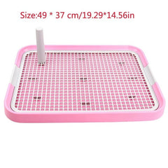 Pet Dog Toilet Cat Litter Tray Potty Toilet for Dogs Cat Puppy Pad Doggy Pee Training Toilet Mesh Pet Dog Product