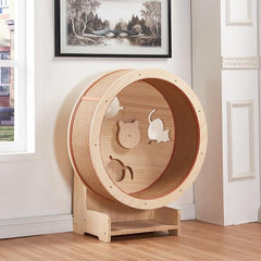 Pet furniture cat climbing frame cat litter cat furniture cat climbing wheel cat treadmill cat running wheel cat toy
